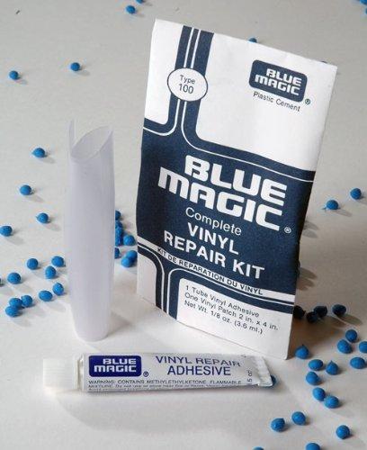 Blue Magic Vinyl reparatieset voor alle soorten zachte PVC – waterbedden/watermatrassen, waterspeelgoed, zwembaden enz.