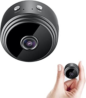 IFITech - 1080p HD Mini WiFi Camera, Live on Mobile App , Supports 128GB MicroSD Card (Not Included) (Battery Backup)