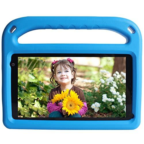 Tablet per Bambini 7 Pollici Android 11 con 32 GB ROM, 2 GB RAM, WiFi, Bluetooth, Controllo Genitori, Play Store Installato, Doppia Fotocamera, Espansione MicroSD, con Custodia (Blu)