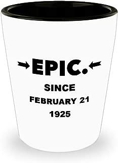Birthday Shot Glass: