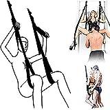 SēX Door Swing for Adǘlt Cóuples Bǒn'dāge Tɔy with Adjustable Seats Extreme Enjoyment Over The Door Swing