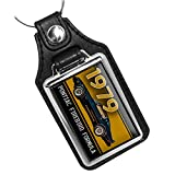 Brotherhood 1979 Compatible with Pontiac Firebird Formula Keychain Key Holder Key Ring for Men Heavy Duty Car Keyring for Men and Women