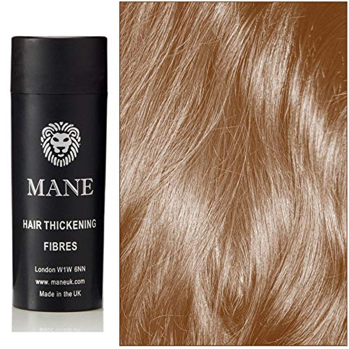 Hazel-Auburn Mane Hair Thickening Fibres- direct from the UK Manufacturer - 11 shades available