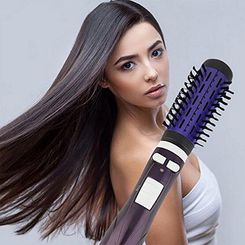 Hair Curler Cepillo De Pelo Redondo Cepillo Eléctrico Del Pelo Que Riza...