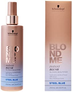 Schwarzkopf Professional BlondMe Instant Blush Blonde Beautifier 250ml Steel Blue