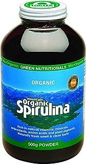 Green Nutritionals Mountain Organic Spirulina Powder 500 g, 500 grams