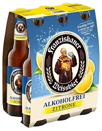 Franziskaner Alkoholfrei Zitrone Biermischgetränk MEHRWEG (6 x 0.33 l)