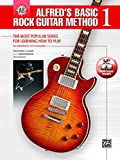 Alfred's Basic Rock Guitar Method, Bk 1: The Most Popular Series for Learning How to Play, Book & Online Video/Audio/Software (Alfred's Basic Guitar Library, Bk 1)