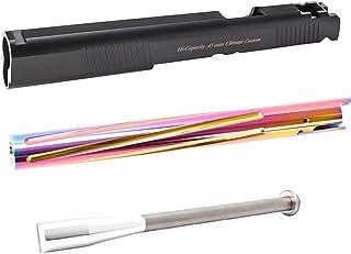 LayLax (ライラクス) NINE BALL Hi-CAPA5.1用 カスタムスライドNEO 7inch + ヒートグラデーションアウター7inch 3点セット エアガン用アクセサリー