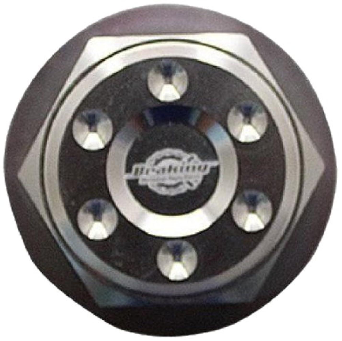 アライメントシネウィカリキュラムGROM/グロム(MSX125) CNC ステアリングステムナット シルバー(バイク用品/バイクパーツ)マッドマックス【MADMAX】 MM19-0301S