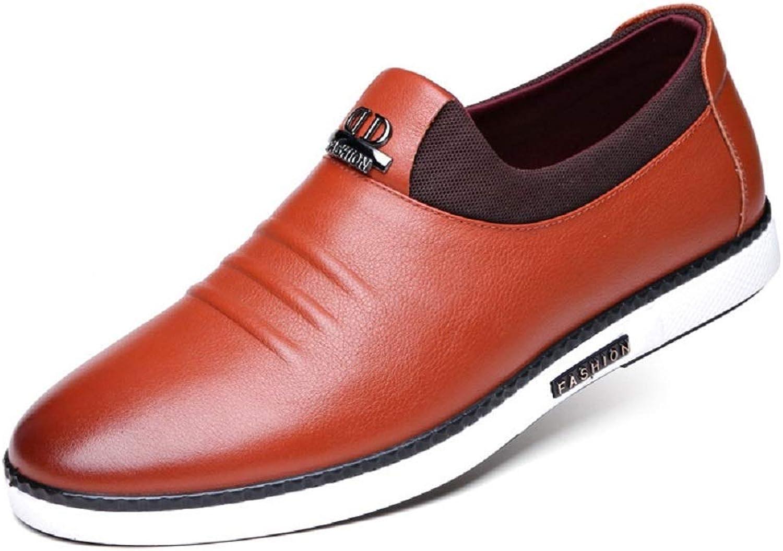 Men's Papa Casual City Work Ventilation shoes Round Toe