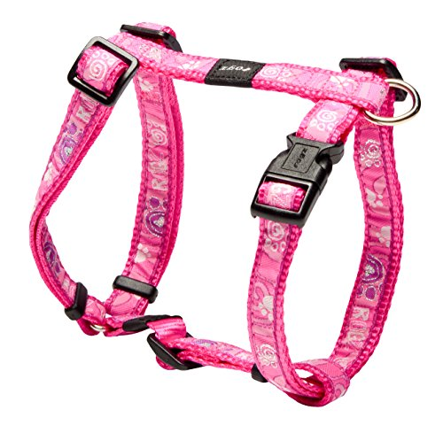 Rogz SJ12-CA Fancy Dress Hundegeschirr/Scooter, M, rosa