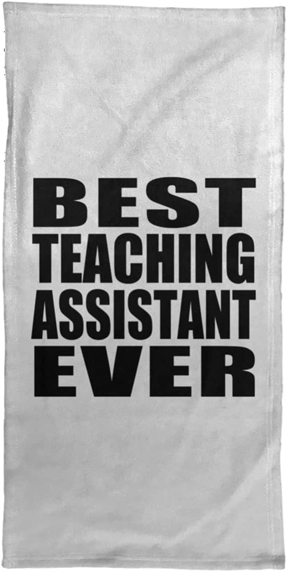 Designsify Best Max 79% OFF Teaching Assistant Arlington Mall Ever inch Hand 15x30 - Towel
