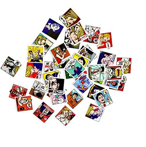 HUNSHA Hand Account Cartoon Pop Style Luggage Trolley Suitcase Graffiti Stickers Car Notebook Stickers Waterproof 40Pxa