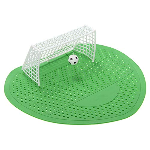 Urinal Socce Goal,Funny Soccer Shoot Brush Goal Style Aromatic Urinals Screen Men's Toilet Home Club Accessories Pad