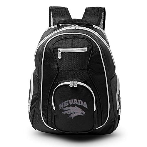 Save %27 Now! NCAA Nevada Wolf Pack Colored Trim Premium Laptop Backpack