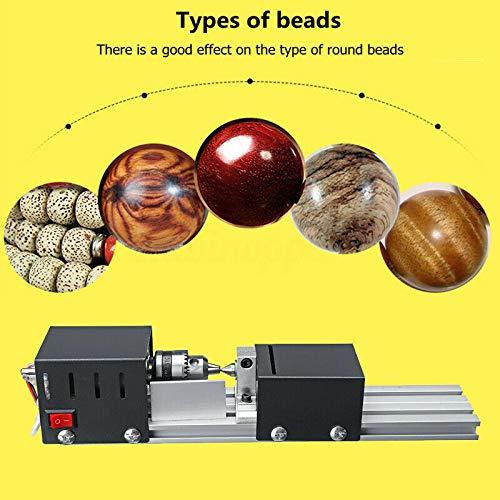 200W CNC Mini Lathe Machine Tool DIY Woodworking Wood lathe Milling machine Grinding Polishing Beads Drill Rotary Tool Set