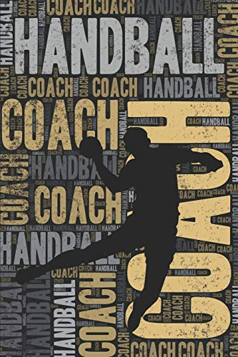 Handball Coach Journal: Cool Blank Lined Handball Lovers Notebook For Coach and Player