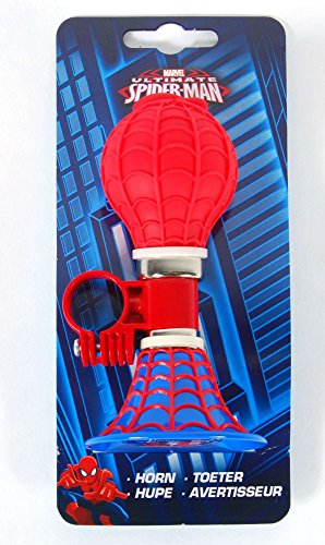 Disney Kinder Fahrrad Fahrradhupe Ballhupe Lenkerhupe Hupe Spiderman Marvel VOLARE