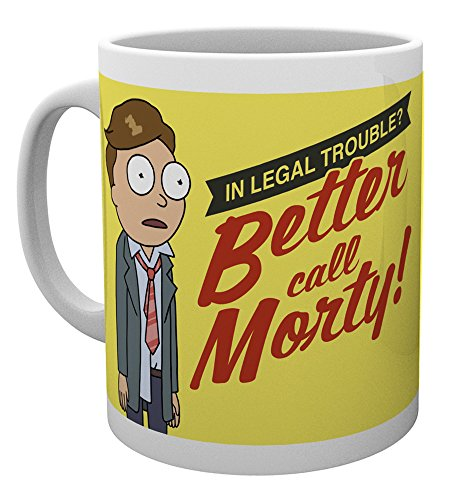GB eye Taza Rick & Morty Better Call Morty, Multicolor, Unico