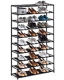 YOUDESURE 10 Tiers Shoe Rack, Large Shoe Rack Organizer for 50...
