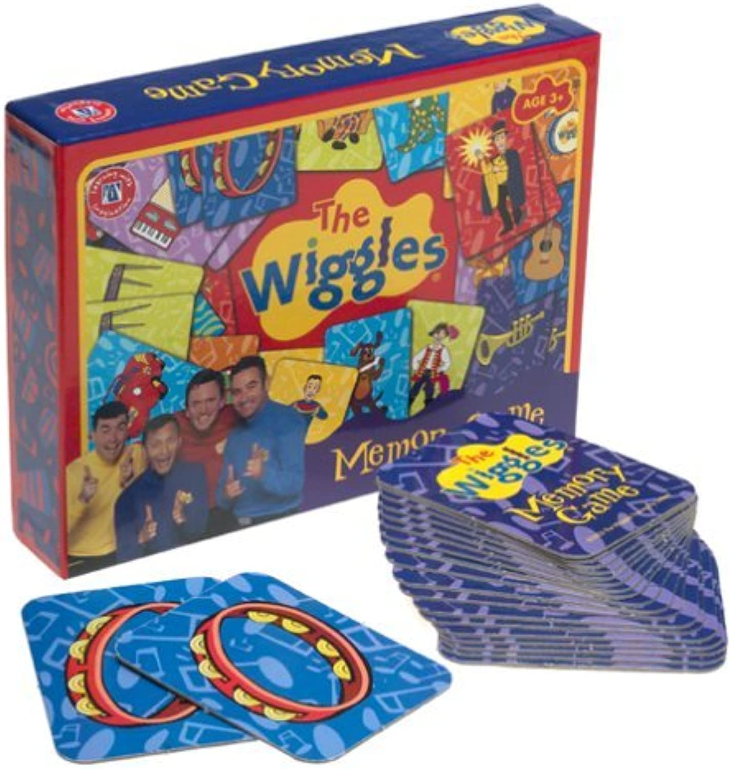 The Wiggles Memory Game by The Wiggles