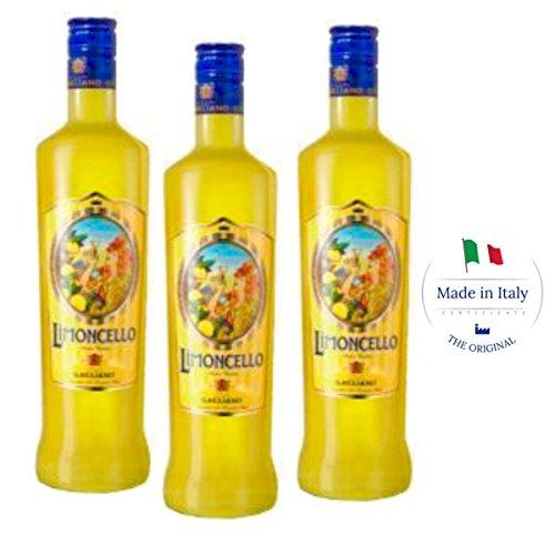 Traditional Italian Limoncello - ancient recipe (Box 3 bottles)