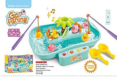 SGM Kids Childrens Go Fishing Hook a Duck Christmas Stocking Filler Game Toy