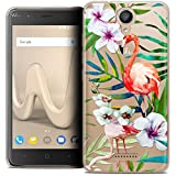 Case for Wiko Harry 5 Inch Tropical Flamingo
