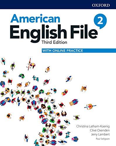 American English File 3E Level 2 Student Book (English Edition)