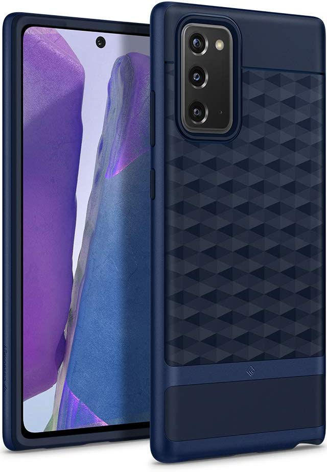 Caseology Parallax for Samsung Galaxy Note 20 Case (2020) 5G - Midnight Blue