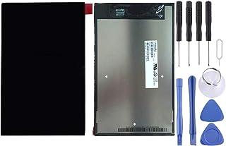 مجموعة الهاتف الخلوي Lingland شاشة LCD ومحول رقمي مجموعة كاملة من أجل Lenovo A8-50 / A5500(أسود) مجموعة شاملة للشاشة (اللو...