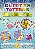 Glitter Tattoos Sun, Moon, Stars (Dover Tattoos)