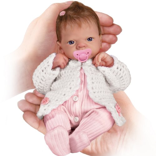 Realistic tiny Baby Girl Doll