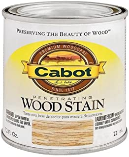 CabotStain 144-8135 HP 1/2 Pint Red Chestnut Interior Oil Wood Stain,