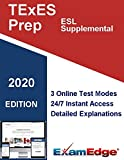 TExES English as a Second Language (ESL) Supplemental  (154) Certification Practice tests with detailed explanations. 10-Test Bundle with 800 Unique Test Questions