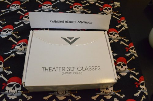 8 Pair of NEW Vizio Passive 3D Glasses XPG308...