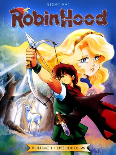 Robin Hood - Vol. 1 (Episoden 01-26) [5 DVDs]