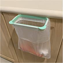 Trash Bag Holder for Kitchen Cupboard RV, Hanging Portable Trash Bin, Space Saving, Garbage Bag Storage Rack, Green 2 Pieces