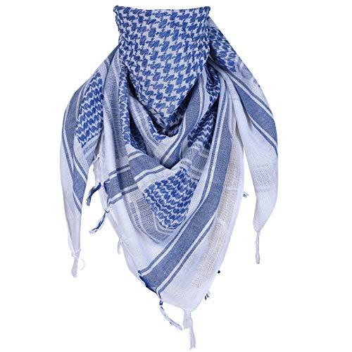 ExTWISTim Shemagh sjaal Keffiyeh Arab Wrap Army Military Tactical woestijn 100% katoen herensluierkop geruit unisex hoofddoek