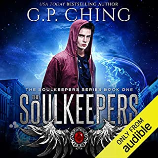 The Soulkeepers audiobook cover art