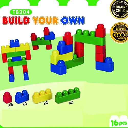 Tutor Blocks Meine ersten Magnetbausteine Serie 304 Ergänzungsbausteinpaket Abenteuer Kleinkind Lernbausteine Babyspielzeug Motorikspielzeug ab 6 Monate