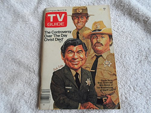 TV Guide March 22-28 1980 Sheriff Lobo cover