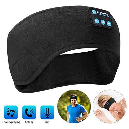 LC-dolida Diadema con Bluetooth, Transpirable, Auriculares para Dormir, para Correr, Dormir, Caminar y Yoga (tamaño Universal)