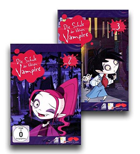 Die Schule der kleinen Vampire - Staffel 2, DVD 2 + 3 [2 DVDs]