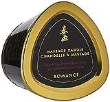 Shunga Vela de Masaje Romance, Aroma de Vino Espumoso con Fresas, Color Blanco - 170 ml, 15.2 x 12.7...