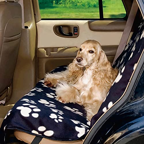 WILDEDEN Pets Dog Back Seat Cover with Nonslip Durable Soft Pet Back Seat...