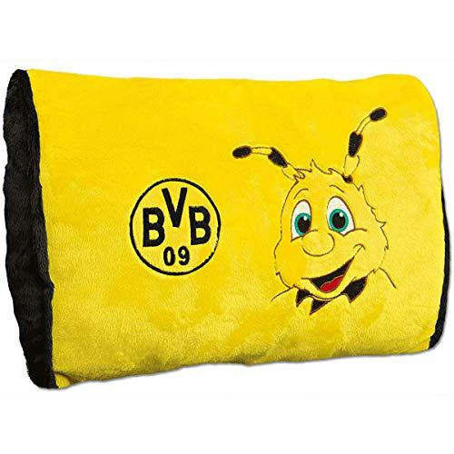 Borussia Dortmund Emma-Plüschkissen one Size, 100% Polyester, gelb, 40x28cm