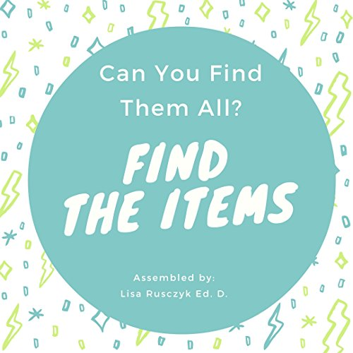 Find the Items: Can You Find All The Items? (English Edition)