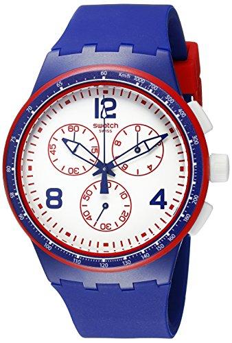 Swatch Reloj de Cuarzo Unisex Fast Server 42 mm